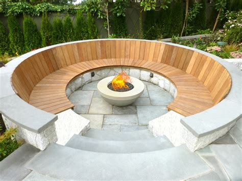 outdoor feuerstelle magical outdoor pit seating ideas area designs