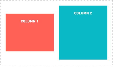 two column layout with flexbox how to vertically middle align floated elements with flexbox