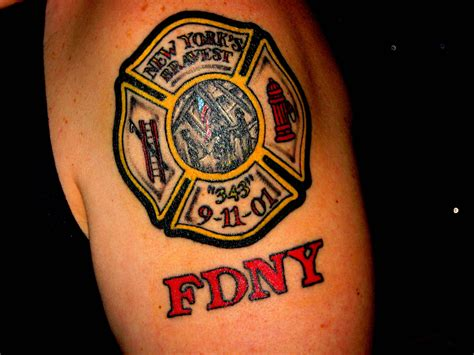 firefighter maltese cross tattoos new 9 11 tribute memorial and american patriotic pride