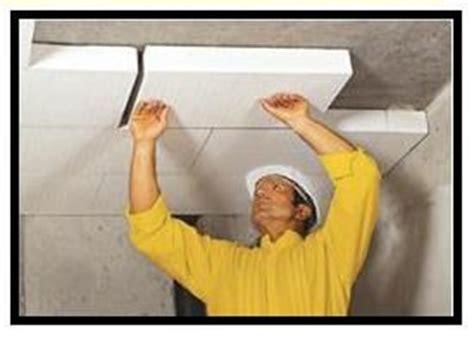 cappotto interno soffitto cappotto soffitto garage pannelli termoisolanti