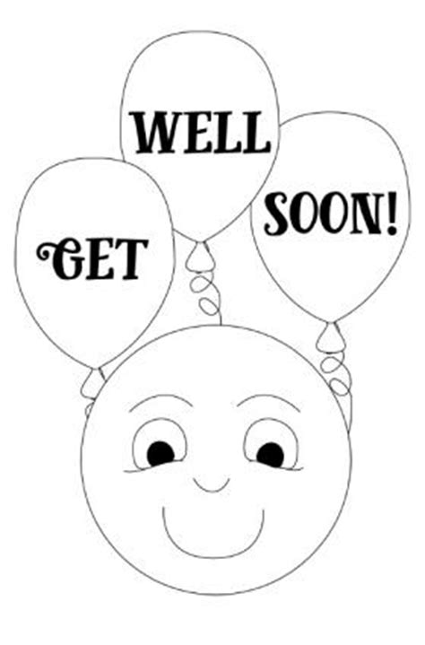 printable get well soon card templates printable get well cards for to color lovetoknow