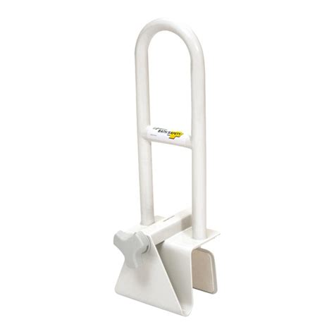 bathtub grab bar safety rail essential medical adjustable bathtub safety bar grab