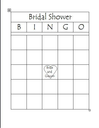 free bridal bingo card template free printable bridal bingo template bridal shower bingo