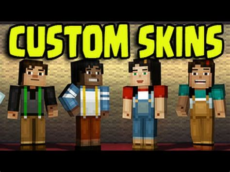 ps3 themes minecraft story mode minecraft ps3 ps4 xbox wii u custom character skins
