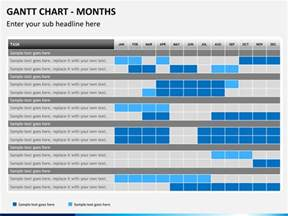 Powerpoint Gantt Chart Template by Gantt Chart Powerpoint Template