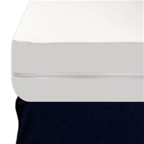 Vinyl Mattress Cover With Zipper Heavy by Heavy Duty 9 Quot Zippered Vinyl Mattress Cover Turn