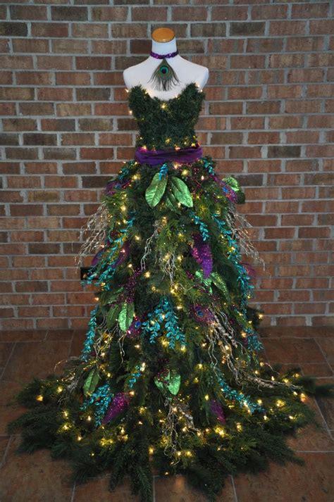 Trees Dress tree dress peacock inspired tree