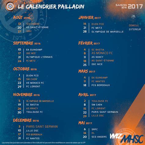 Calendrier Ligue 1 2016 Sco Calendrier Le Mhsc D 233 Butera Par La R 233 Ception Du Sco