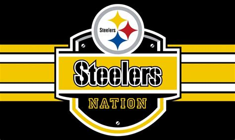 aliexpress support team new design 90x150cm pittsburgh steelers nation flag