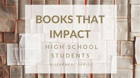 picture books for high school students books that impact high school students the uncommon