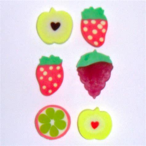 fruit erasers fruit set erasers novelty rubbers set of 6