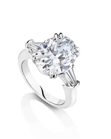 Harry Winston Engagement Ring by Oval Engagement Rings For The To Be Martha Stewart