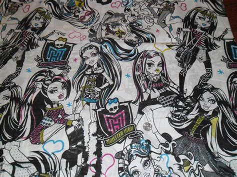 bed sheet fabric options monster high and goosebumps bed sheets fabric options for