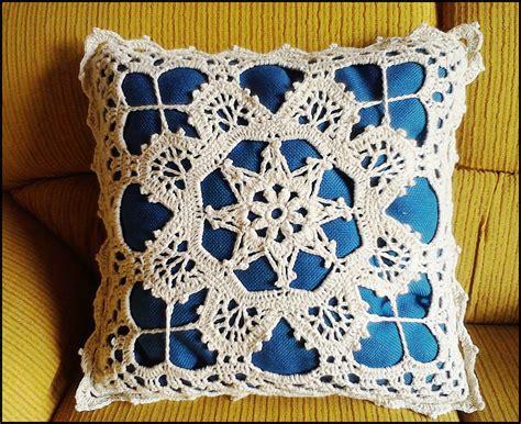 capa de almofada de barbante capa para almofada em croch 234 flor simone pinturas