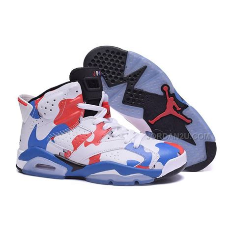 customize basketball shoes sale air 6 retro american heroes custom