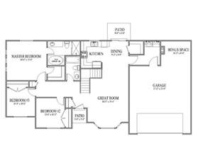 Rambler Floor Plan by House Plans Rambler Smalltowndjs Com