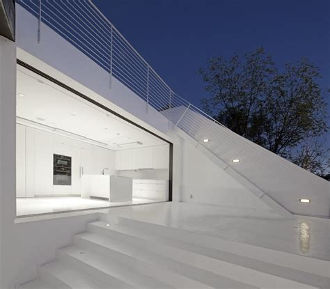abstract minimalist house  hollywood hills idesignarch