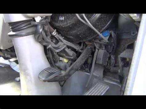 hino truck brakeclutch problem  lack  vacuum