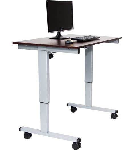 electric standing desk in desks and hutches
