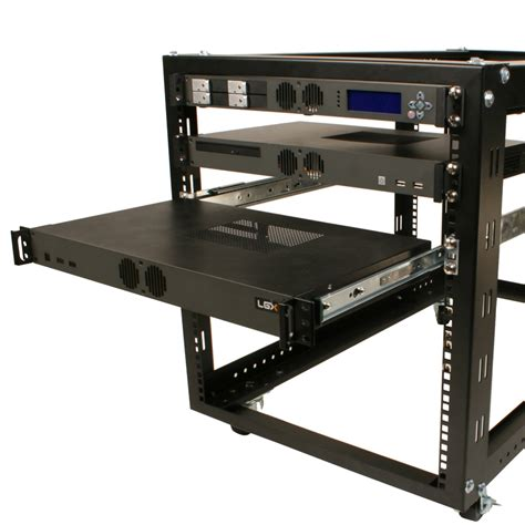 Mounting Rack by Sliding Rail Mounting Kit For Rackmount Chassis Logic Supply