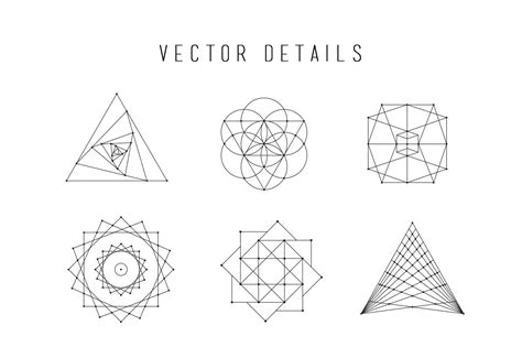 sacred geometry vector bundle by skybox creative