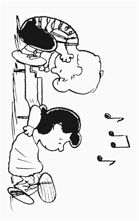 peanut characters coloring pages