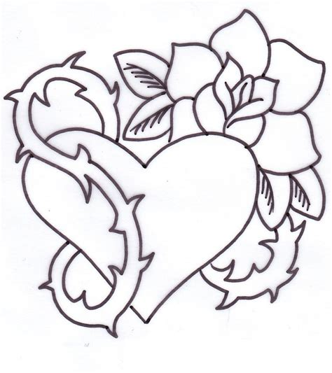 heart and rose tattoos tattoos designs ideas and meaning tattoos for you