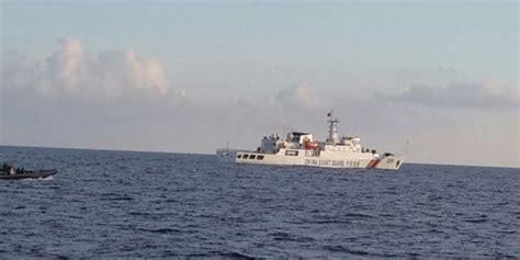 Pe Natuna ini penakan kapal aparat china yang terobos laut natuna