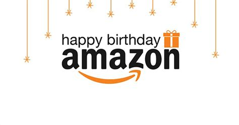 happy birthday amazon infographic  marketing