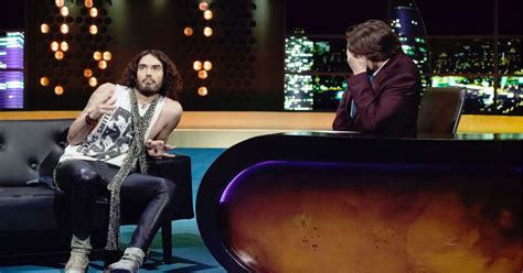 sachsgate russell brand rant cut from jonathan ross chat show mirror online