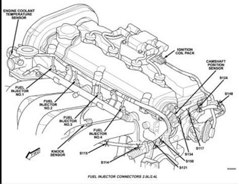 2004 Dodge Stratus Knock Sensor Location Computer Problem