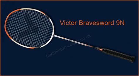 Raket Victor Brave Sword 7355 victor bravesword 9n badminton racquet review