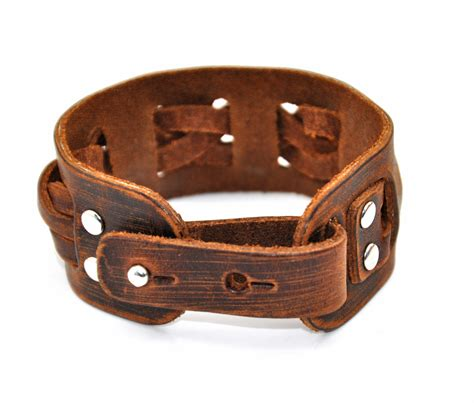 Genuine Leather Bracelet genuine leather bracelet snaps bracelet boy