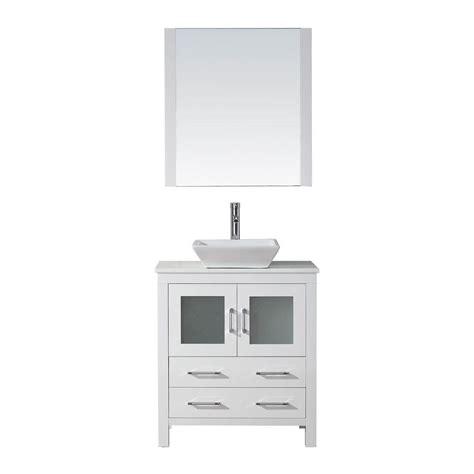 virtu bathroom virtu usa bathroom dior 30 in vanity in white with pure
