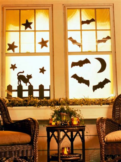 how to decorate your windows ideas on how to decorate your windows with paper cutouts