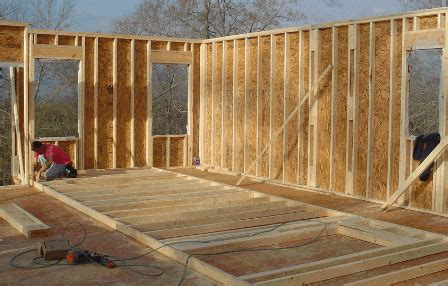 how to frame a house framing the house