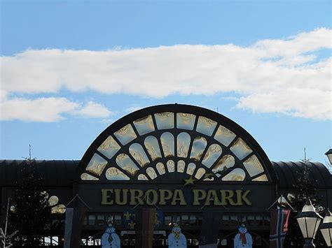 europa park eingang ausflug rust europa park sozialverband vdk baden w 252 rttemberg