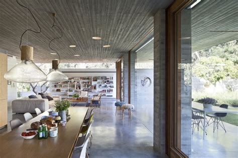 sichtbeton innen f 252 r boden und decke ein architektenhaus - Sichtbeton Innen