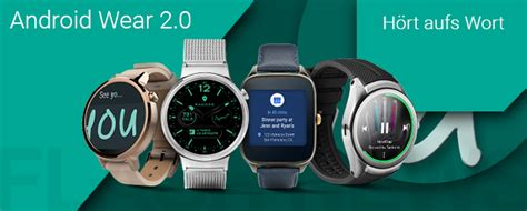 android wear news android wear 2 0 letzte developer preview wird verteilt