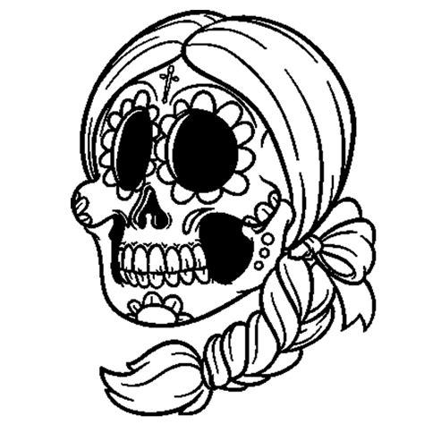 imagenes de calaveras niñas dibujos de calaveras para imprimir dibujo para colorear