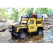 Lego Land Rover Camel Trophy  LEGO Technic Modelle