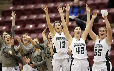 mn girls basketball section brackets borowicz sisters pace roseau in 2a quarterfinal victory