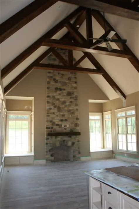 vaulted ceiling with beams vaulted ceiling for the home pinterest