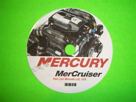 Mercury Mercruiser Marine Engines Gm V8 454 Amp 502 Cid