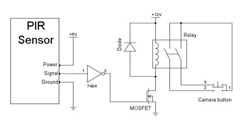file motion sensing wildlife motion sensor relay