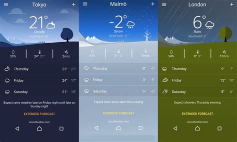 sony weather app ready for exclusive to xperia devices only android community - Android Weather App