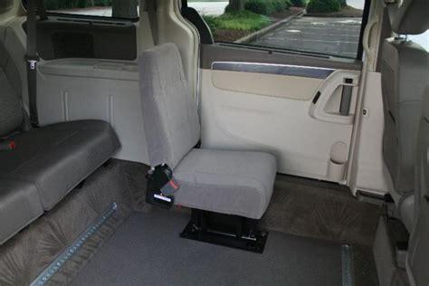 handicap car seat single jump seats for wheelchair accessible conversion vans