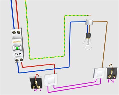 schema et montage electrique va et vient shemas montage
