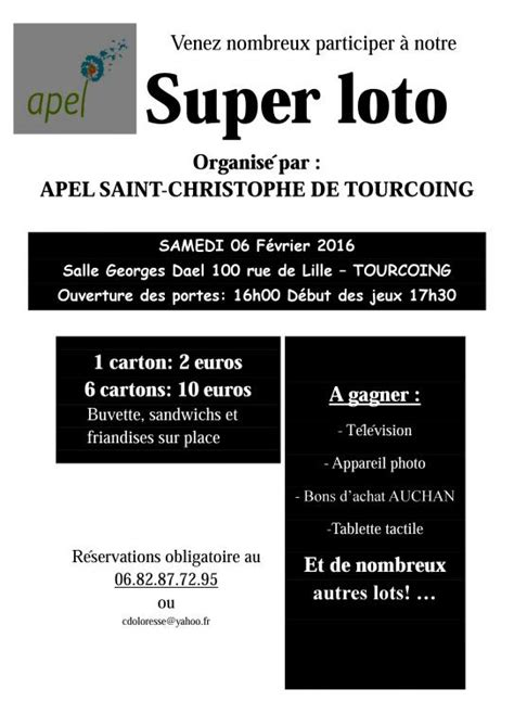 APEL ST CHRISTOPHE | Lotopassion