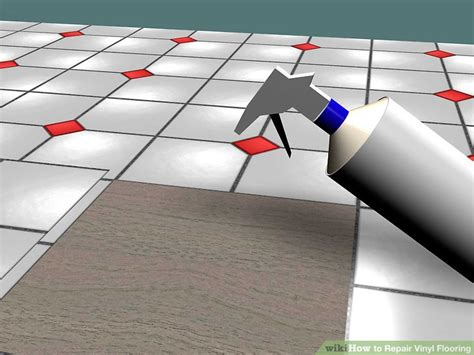 3 Ways to Repair Vinyl Flooring   wikiHow